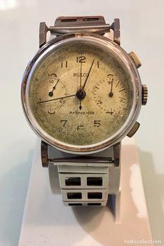 a3c4d90af6e9 Reloj Mulco chronografo Vintage calibre Valjoux. Relojes De DiseñoRelojes  AntiguosReloj ...