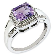 7 #SterlingSilverAmethyst & #DiamondRing Right-hand-rings Are you one of those shinning stars who loves to show what you are? Grab this Sterling Silver Amethyst & Diamond Ring to look your best today! Besides looking fabulous, it's really comfortable. http://ebay.to/1vLRjwv