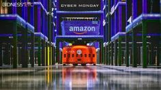 Amazon.com's army of 15,000 Kiva robots has been rolled out in preparation of Cyber Monday