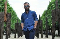 Look homme décontracté discret www.lhommetendance.fr, man style, fashion, look weekender,