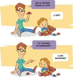 Conseil #2 Suivre les intérêts de l'enfant au moment d'échanger avec lui #Placote#Stimulationdulangage