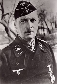 Graf von Strachwitz decorated with Knight's Cross of the Iron Cross and on 15.04.1944 was awarded Oak Leaves with Swords and Diamonds to the Knight's Cross.