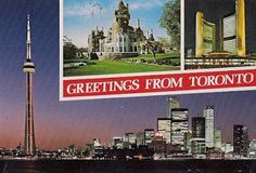Travels with postcards around the world: TORONTO