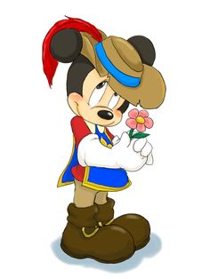 The Three Musketeers Mickey by hat-M84.deviantart.com on @deviantART