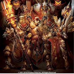In Stores January 2017 - Forces of WARMACHINE: Protectorate of Menoth Command. Cover print available now! http://store.privateerpress.com/collectibles/prints/protectorate-of-menoth-command-book-cover-print