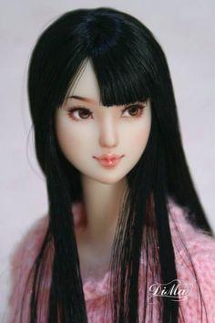 """★ COCO ★ 1/6 custom obitsu doll head """"Junko"""""""