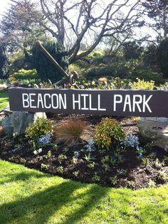 Beacon Hill Park paikassa Victoria, BC