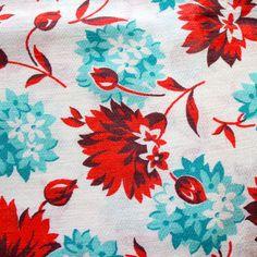 1940s Cotton Blend Fabric