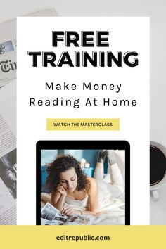 Whether you are just discovering proofreading and editing, or you're ready to take the next step, we have the training and mentorship for you! You do not need to have a university degree to be successful and get started. In fact it is the perfectopprtunity for those who want to work at home & make some extra money! ➡️Get access to the free training. legit work from home jobs 2021 I best work from home jobs 2021 I real work from home jobs 2021 I work from home jobs no experience 2021 Legit Work From Home, Work From Home Tips, Make Money From Home, Way To Make Money, Reading At Home, English Writing Skills, Online Entrepreneur, Free Training, Online Work