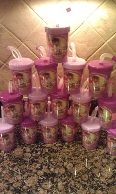 Doc McStuffins Birthday Party Kids Cups