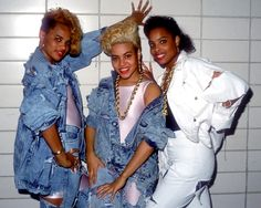 Salt-n-pepa 80s Fashion Clothes Salt N Pepa amp Spinderella