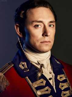 """And who is this gent? He plays John Andre in a movie, I think it's called """"Turn."""" His hair and eyes are beautiful."""