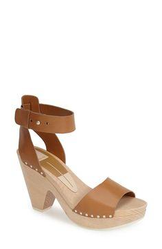 Dolce Vita 'Nalia' Leather Ankle Strap Platform Sandal (Women) available at #Nordstrom