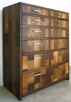 Simon Dresser customized for a client of Cliff Spencer Furniture Maker