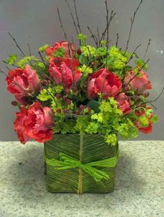 Image detail for -florist, flower, flowers, arrangements, handtied, hand-tied, basket ...