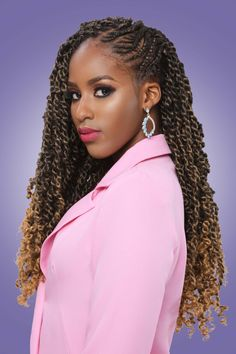 Check out Darling Passion Twist from the Natural Styles Collection. Crochet Braids Hairstyles, Twist Hairstyles, Latest Hairstyles, Protective Hairstyles, Goddess Locs, Crochet Hair Extensions, Marley Twists, Natural Styles, Crochet Hair Styles