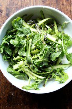 Canal House Shaved Asparagus & Arugula Salad