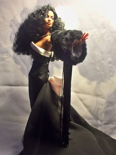 The Black Barbie Series. Beautiful Barbie Dolls, Pretty Dolls, Diana Ross, Barbie Celebrity, Diva Dolls, African American Dolls, Barbie Collection, Barbie World, Celebs
