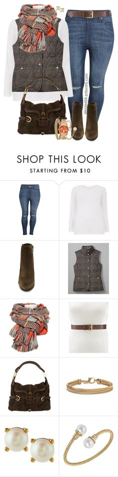 Plus Size Field Vest by alexawebb on Polyvore featuring H&M, Via Spiga, Jimmy Choo, Blue Nile, Kate Spade, outfit, plussize, plussizefashion, alexawebb and PolyvorePlus