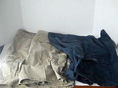 Wrangler Originals Lot of 3 Mens 46 Shorts Green Blue 100% Cotton #WranglerOriginals #CasualShorts