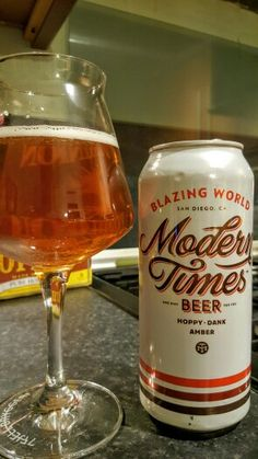 Modern Times Blazing World Amber Ale. Watch the video beer review here…