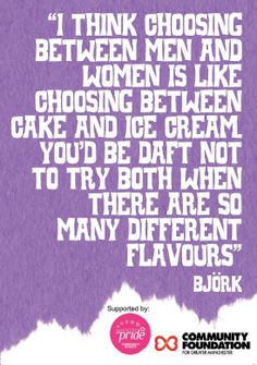 Getting Bi in a Gay / Straight World - back cover Women Be Like, Bjork, Gay, Album, Cover, Quotes, Quotations, Quote, Shut Up Quotes