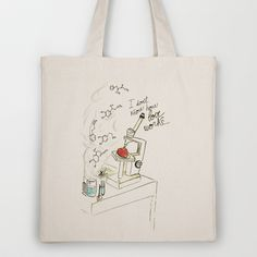 I dont know how love works Tote Bag