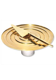 Gifts for Foodies - Brass Server and Marble and Brass Cake Stand from #InStyle