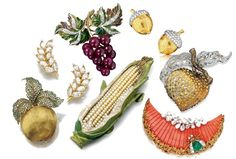 Traditionally, a cornucopia symbolizes abundance and nourishment, a large horn-shaped container overflowing with ripe produce, flowers, nuts and other edibles. Seeing as America's Thanksgivi…