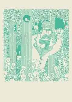 Creative Warburton, Illustration, Deep, Woods-Hylton, and Hylton image ideas & inspiration on Designspiration South African Artists, Mural Wall Art, Love Illustration, Typography Inspiration, Interactive Design, Letterpress, Comic Art, Illustrators, Poster Prints