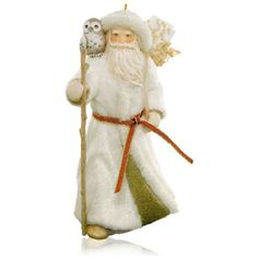 2015 Dreambook - Father Christmas and Owl Ornament