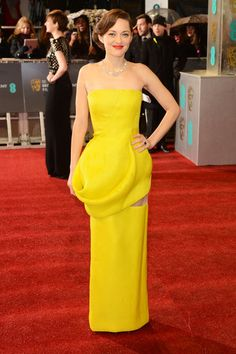 Marion Cotillard in Christian Dior Couture at the BAFTA Awards