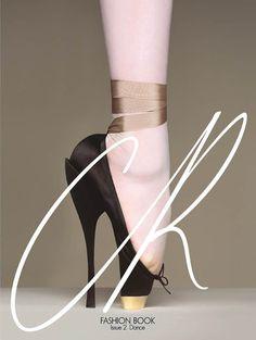 Carine Roitfield: Fashion Book. Shoe designed by artist Brigitte Niedermair.