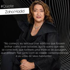 Em homenagem a dama da arquitetura, Zaha Hadid, que faleceu no último dia 31 de março, em Miami, destacamos a sua importância no mundo arquitetura. Zaha Hadid nasceu em 31 de outubro de 1950, em Bagdá, Iraque. Em 2004, se tornou a primeira e a única mulher a ganhar o Prêmio Pritzker, o mais importante da arquitetura.