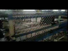 high speed chain link fence machine Chain Link Fence, Machine Video, High Speed, Wire Fence, Chicken Wire