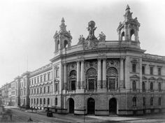 Das älteste Postmuseum der Welt: das Reichspostmuseum in der Leipziger Straße um 1900, heute beherbergt es das Museum für Kommunikation. Berlin, um 1900. O.P.
