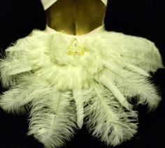 White Swan Feather Costume Bussel Skirt  by sajeeladesign on Etsy, $74.95