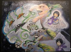 Dream Goblins/Title Unknown ~ Original Artwork by Alfie Numeric (aka Alfie Ebojo)