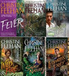Leopards series by Christine Feehan