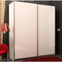 Amadio due ante scorrevoli colore bianco e laccato bianco lucido  http://www.mobilionline.info/shop/mobile-da-camera-da-letto/armadio/armadio-due-ante-scorrevoli-colore-bianco-e-laccato-bianco-lucido/ #armadio #mobiledacameradalatto #mobili #armadio #mobilionline #bianco #letto