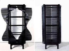 Sebastian ERRAZURIZ artist & designer NYC The Samurai Cabinet