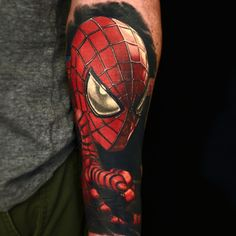 Realistic Spiderman Tattoo | Best tattoo ideas & designs
