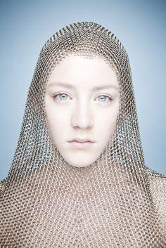 chainmail ... she looks like Saorse Ronin