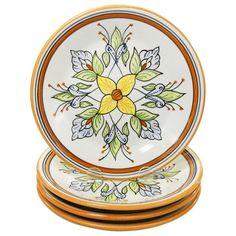 Le Souk Ceramique Salvena Design Side Plates (Set of 4)