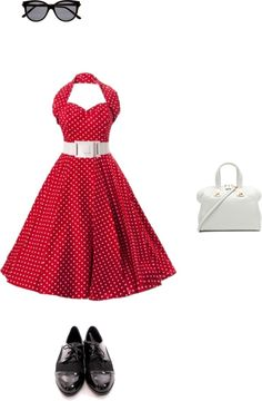 """""""Retro Love"""" by cadk on Polyvore"""
