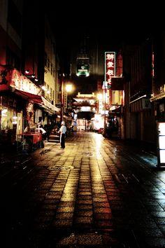 A Night in China Town, Kobe, Japan