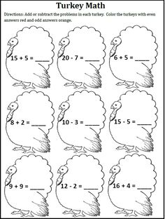 Thanksgiving Fun - Center Activities by A Thinker's Toolbox #math #vowels #craft #turkey #cornucopia #corn #pilgrim