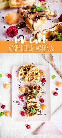 Low Carb Käsekuchenwaffeln www.lowcarbkoestlichkeiten.de