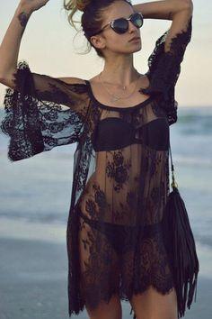 Crochet Summer Dresses, Crochet Lace Dress, Moda Fashion, Trendy Fashion, Womens Fashion, Latest Fashion, Style Fashion, Fashion Design, Fashion Trends