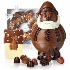 Hotel Chocolat's Christmas chocolate range, a fun and luxury selection of festive chocolates.